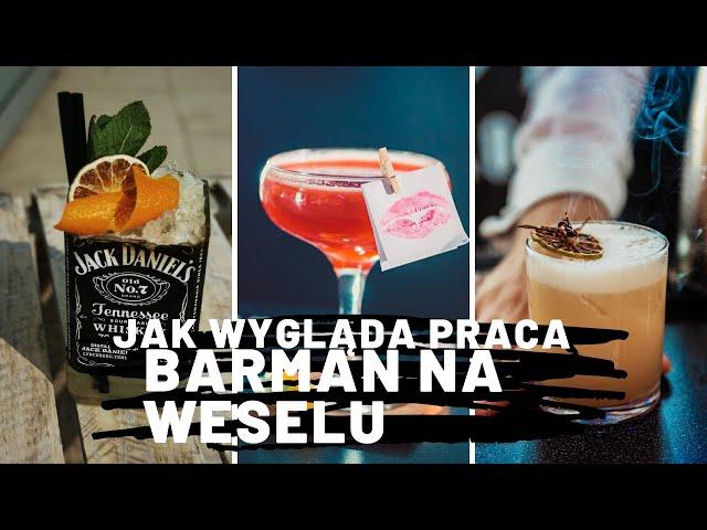Bar i Przyjaciele | Barman na wesele | Weselny Drink bar - film 1