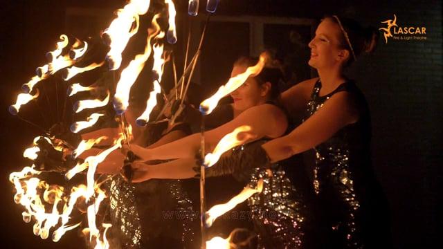 Widowiskowe pokazy ognia i fireshow. Lascar. Zamów taniec z ogniem ! - film 1