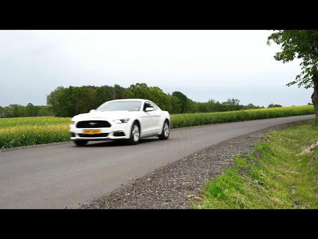 Ford Mustang VI  do ślubu - film 1