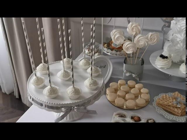 Candy Bar Sweet Table / Słodki Stół słodki kącik - film 1