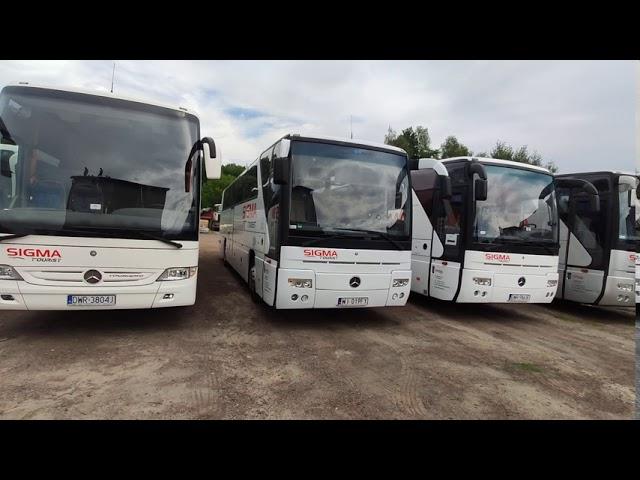 wynajem busów i autokarów przewóz  bus autokar busa transport gości - film 1