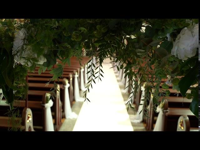 Florystyka ślubna i dekoracje ślubne z pasją. Floraj - film 1