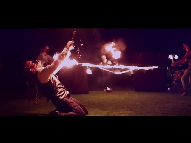 Teatr Ognia TARO. Profesjonalne pokazy fireshow! - film 1