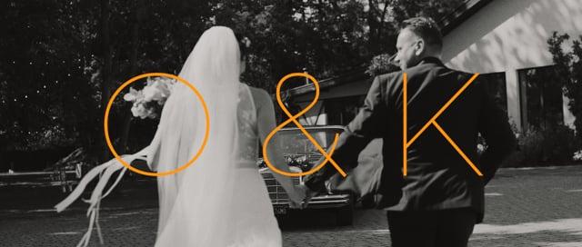 Niesamowite filmy ślubne dla niesamowitych ludzi! - film 1