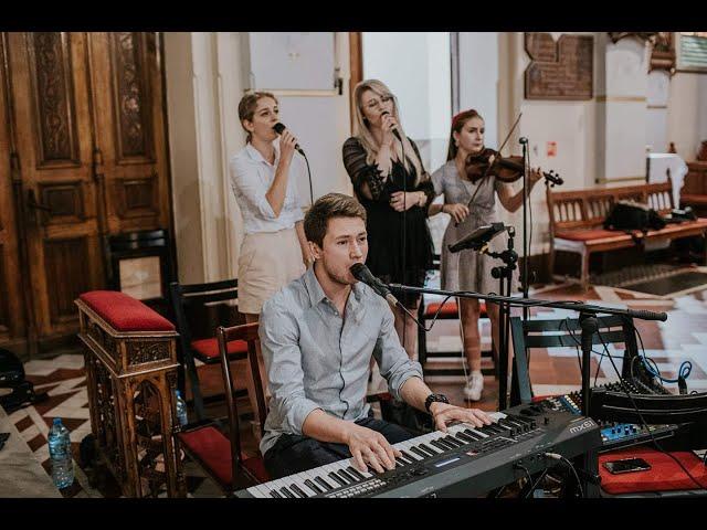 Zespół Zaplątani. - profesjonalne trio - 3 x wokal + piano/organy - film 1