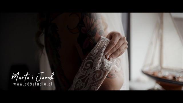 Emocjonujący film ślubny | DRON | SESJA FILMOWA - film 1