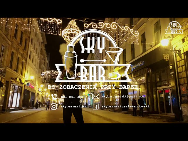 Sky Bar I Barman na Wesele I Mobilny Drink Bar I Profesjonalni Barmani - film 1