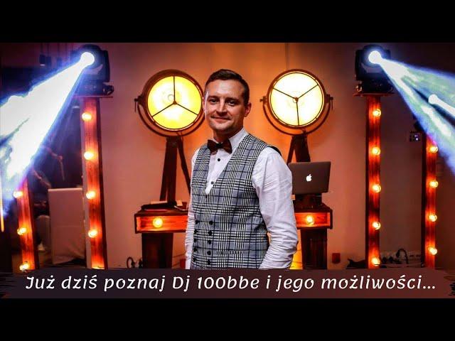 DJ 100bbe & Sax - Nowoczesne Wesela z Klasą / Fotobudka / Ciężki Dym - film 1