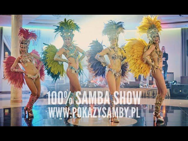 Tancerki samby  - 100% Samba Show - film 1