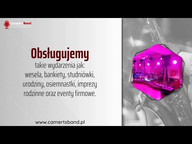 Camert's Band - Zespół Coverowy  - 100% na żywo 🎼 - film 1
