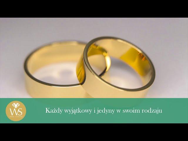 Najpiękniejsze Obrączki Ślubne - film 1