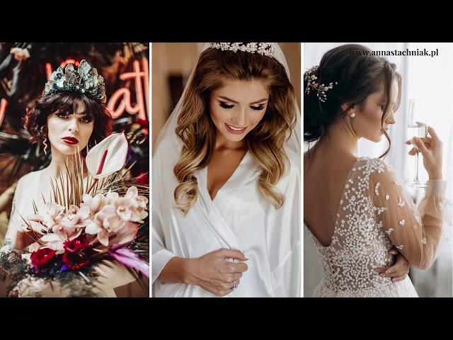 Makijaż i fryzura ślubna z dojazdem - film 1