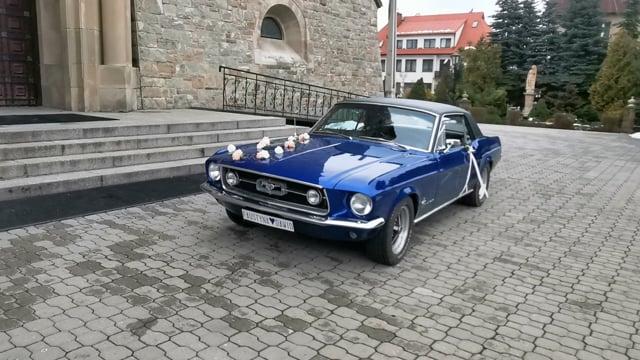 Zabytkowy Ford Mustang 1967 rok - film 1