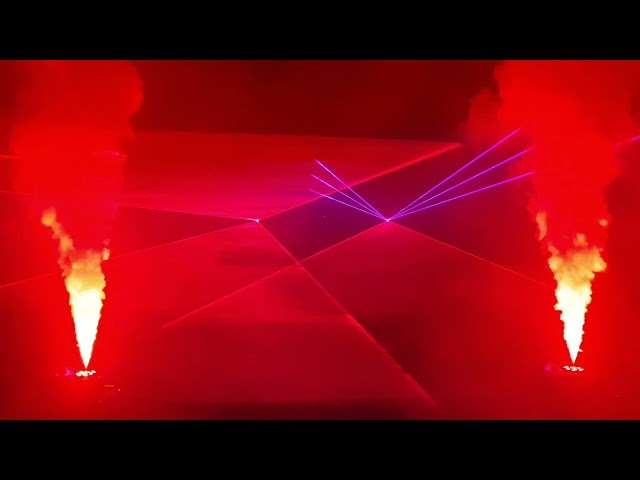 Pokaz Laserowy w tym sesja fotograficzna - film 1