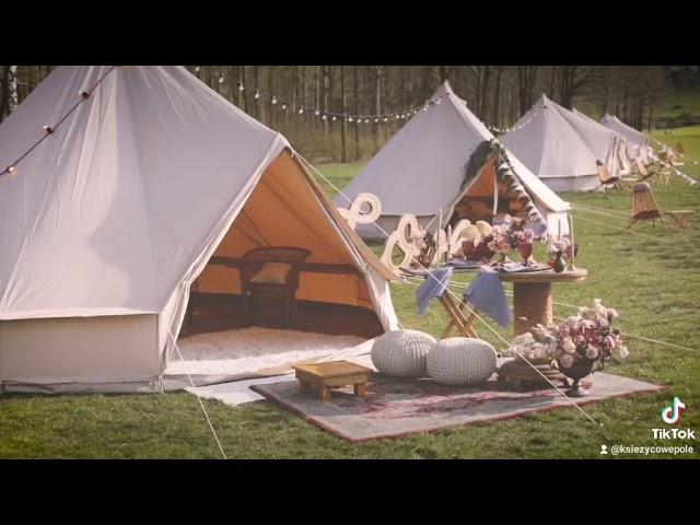 Księżycowe Pole - Mobilny Glamping - namioty boho noclegowe! - film 1