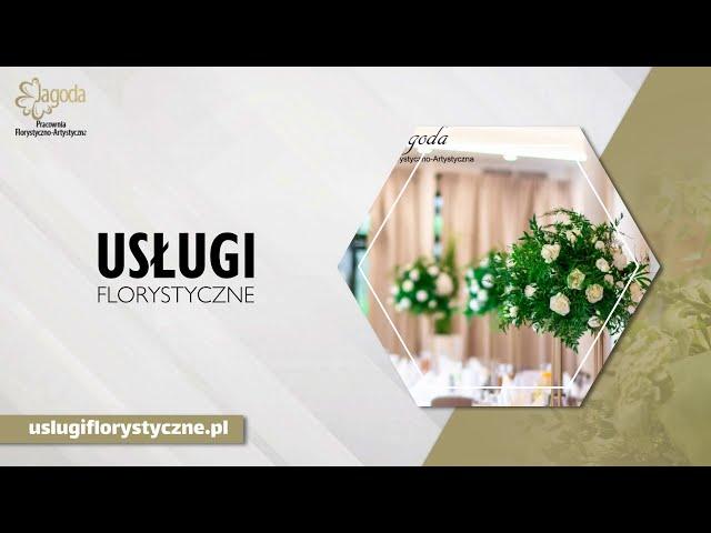 Pracownia Florystyczno-artystyczna Jagoda - film 1