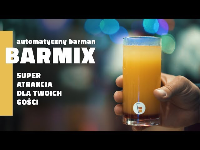 Barmix Automat do drinków / Wynajem - film 1