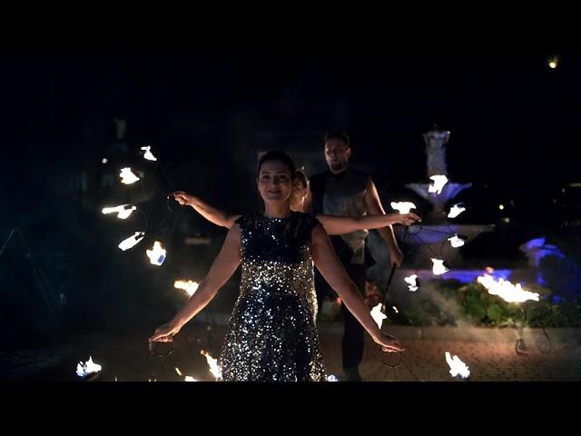 FREAKUS Taniec z ogniem! Pokazy FireShow, LightShow - film 1