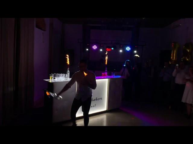 Drink Bar -Barman na wesele- Obsługa Baru ShakersSquad - film 1