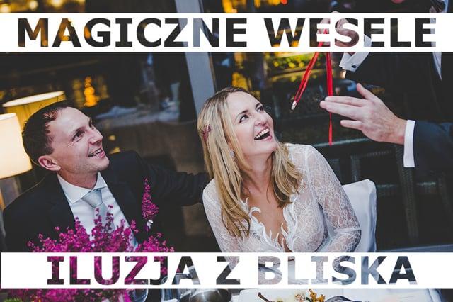 Pokazy iluzji na wesela, 100% Gwarancji zadowolenia, Marcin Gogołowicz - film 1