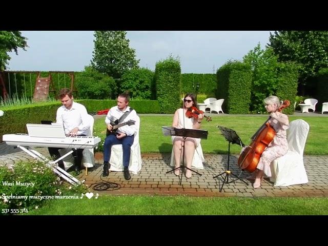WASI MUZYCY - śpiew-skrzypce-wiolonczela-KWARTET-harfa-organy-pianino - film 1