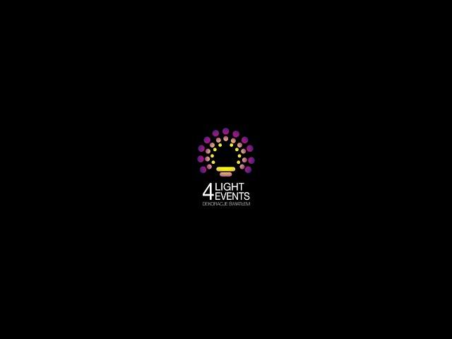 Light4Events - Dekoracje Światłem / Girlandy / LOVE / Oświetlenie - film 1