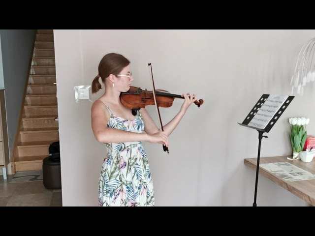 Milena Rogowicz - skrzypce solo oprawa muzyczna ślubu - film 1