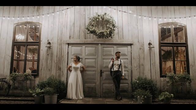 Rozweseleni - nowoczesne filmy ślubne | Love story - film 1