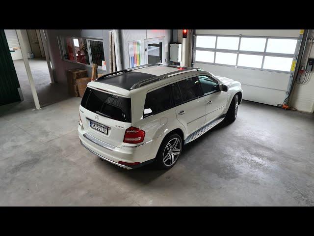 Mercedes GL / Biały / AMG / 22 calowe felgi / aktywny wydech / 7 osób - film 1