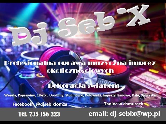 DJ SebiX - Dj/Wodzirej Profesjonalna oprawa muzyczna i konferansjerska - film 1