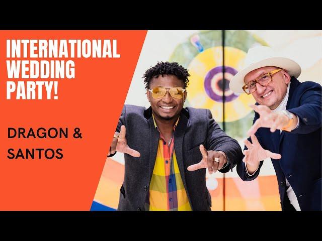 International Wedding Party! DJ Santos & Dragon (latin drums) Wesele! - film 1
