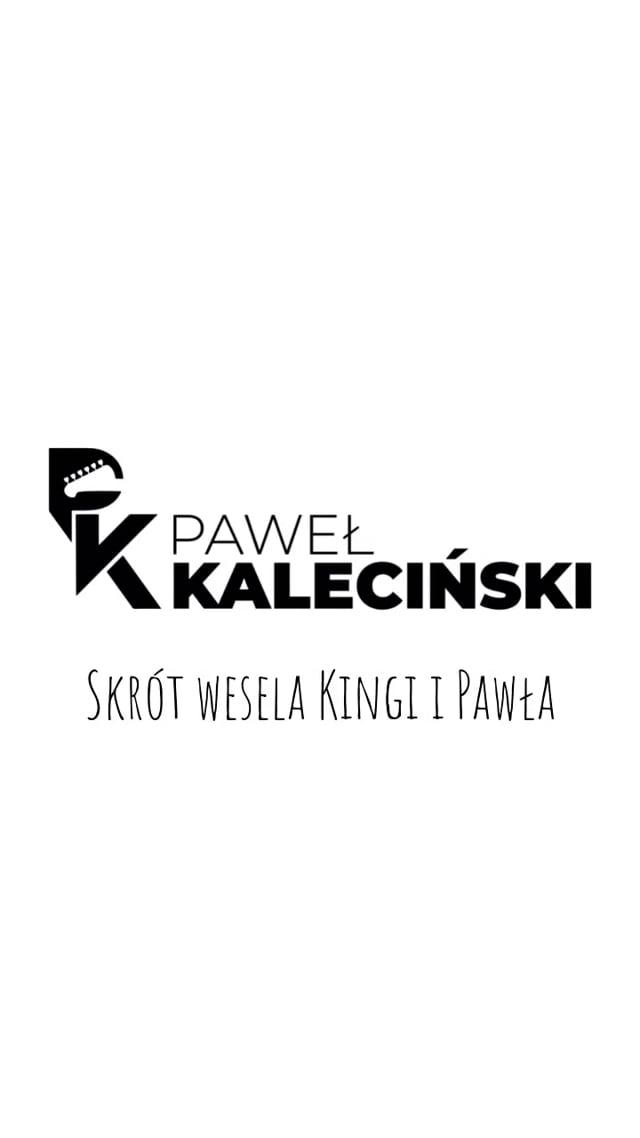 DJ Paweł Kaleciński - wodzirej, gitarzysta i wokalista na Wasze wesele - film 1