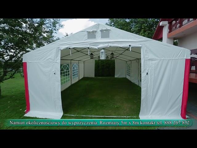Namiot na wszystkie okazje - film 1