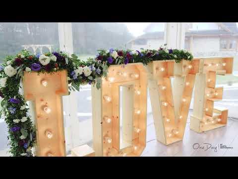 One Day by Marta Nestorowicz - Wedding Design   Pracownia florystyczna - film 1