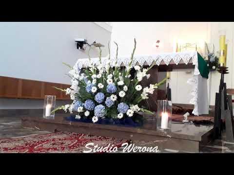 Werona Studio Florystyczne - bukiety ślubne, dekoracje sal i kościołów - film 1