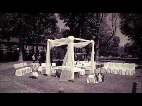 Wesele w Zamkowych wnętrzach Hotelu Zamek *Lubliniec* - film 1