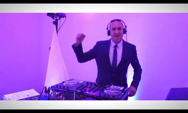 DJ Sway - Dj na każdą okazję. Napis Love, Fotobudka, Ciężki dym. - film 1