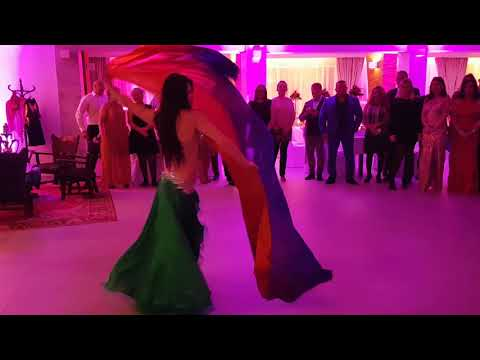 Taniec brzucha - pokaz na Twoim weselu! Wieczór panieński, urodziny - film 1
