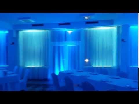 Dekoracje światłem-Oświetlenie sal - film 1