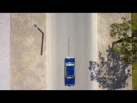 Mercedes S klasa 1972r. - KLIMATYZACJA - film 1
