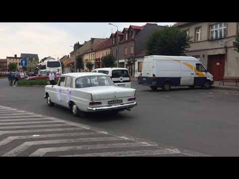 Na wynajem piękny Mercedes Skrzydlak klasyk zabytkowe auto do ślubu - film 1