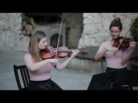 Kwartet smyczkowy, skrzypce, wiolonczela, oprawa muzyczna ślubu - film 1