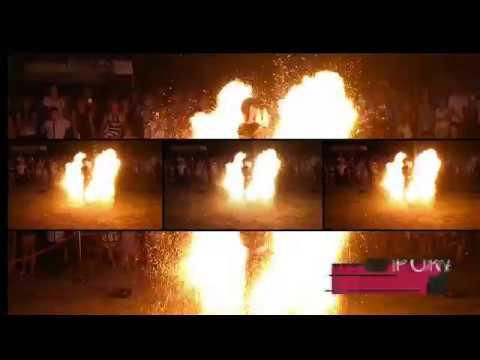 ZJAWISKOWE SHOW! Pokaz OGNIOWY FIRESHOW, Pokazy LED SHOW, Iluzjonista - film 1