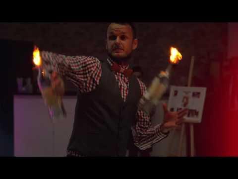 Oryginalny Bar - Weselny Drink Bar, Barman na Wesele, Pokaz Barmański - film 1