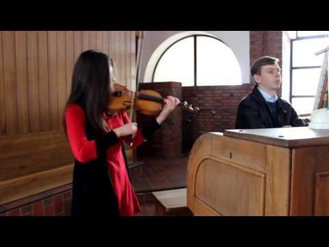 SKRZYPCE i WOKAL - oprawa muzyczna ślubu, składania życzeń, obiadu - film 1