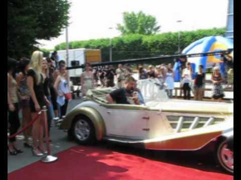 Auta do ślubu RETRO - Mercedes & Morgan - film 1