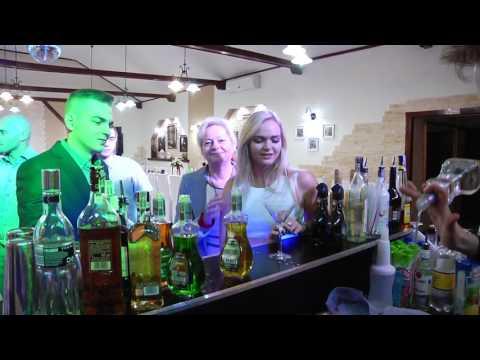 Barman na wesele, Drink bar, Obsługa wesel - film 1