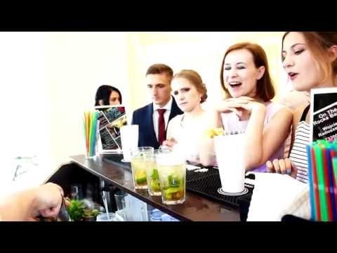 Barman na wesele Obsługa barmańska Pokaz barmański - film 1