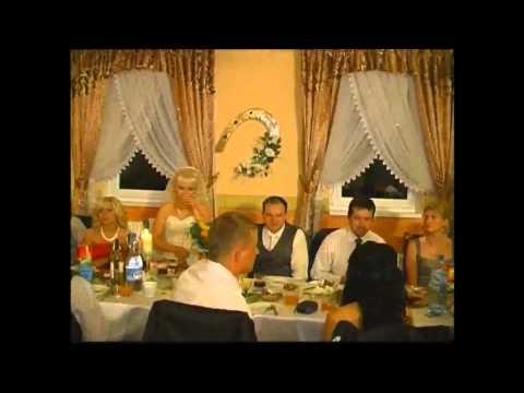 dj Piotr Wójcik na wesele, wodzirej,akordeon,napis LOVE - film 1