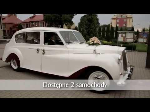 AUSTIN PRINCESS 7 osobowy Auto do ślubu *Warszawa*, samochód na wesele - film 1